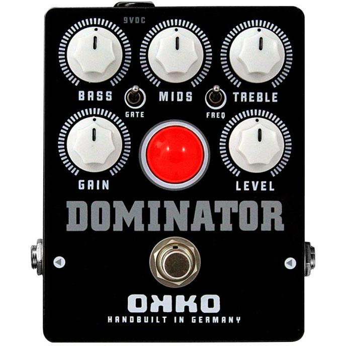 エフェクター ディストーション 《オッコー》 OKKO DOMINATOR MKII BLACK High 送料無料 大人気 Distortion 《エフェクター Gain ディストーション》 特別セール品