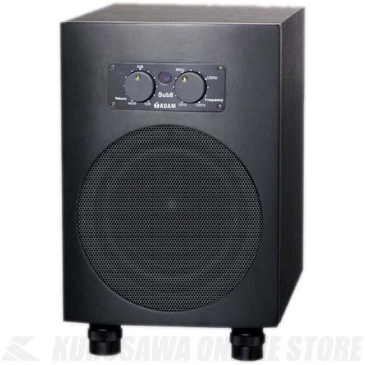 ADAM Audio Subwoofer Sub 8 《スピーカー/アクティブ・サブウーファ 8''》【1本】【お取り寄せ商品】【送料無料】