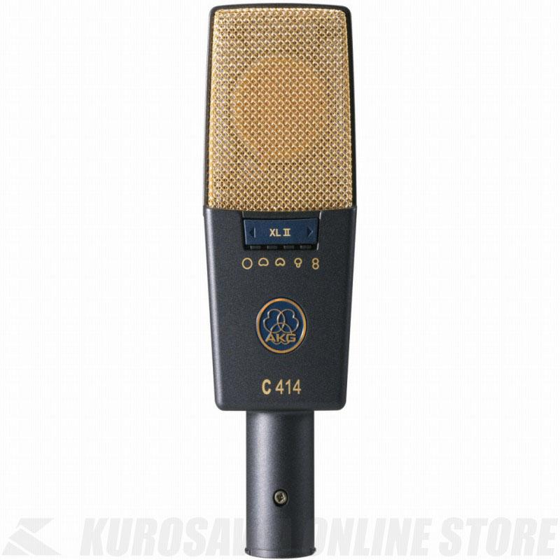 AKG C414 XLII 《サイドアドレス型マイクロホン》【送料無料】(ご予約受付中)