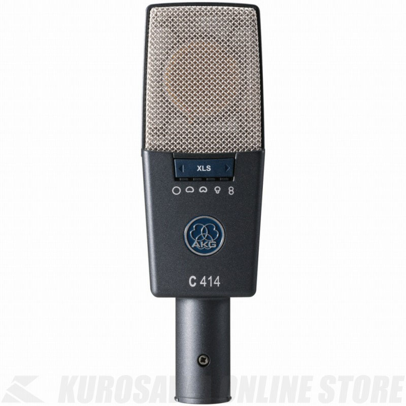 AKG C414 XLS 《サイドアドレス型マイクロホン》【送料無料】