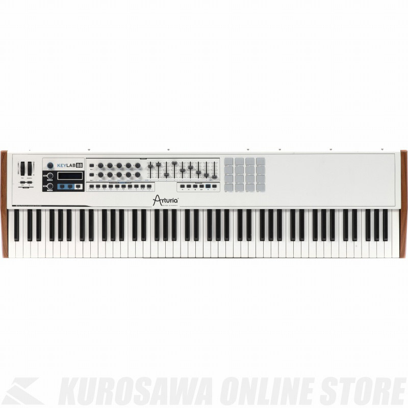 【MIDIコントローラー】《アートリア》 ARTURIA KEYLAB 88 (MIDIコントローラー/ハイブリッドシンセサイザー)(送料無料)(マンスリープレゼント)