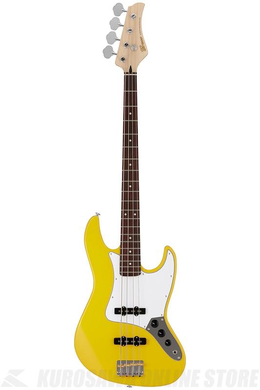 Greco Wild Scamper Series WSB-STD YL (Yellow / Rosewood) 《ベース》【送料無料】【国産ベース】
