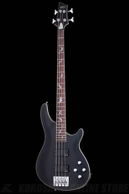 Schecter Diamond Series DAMIEN PLATINUM 4 Satin Black(SBK)[AD-DM-PTM-4/SBK]《ベース》【送料無料】