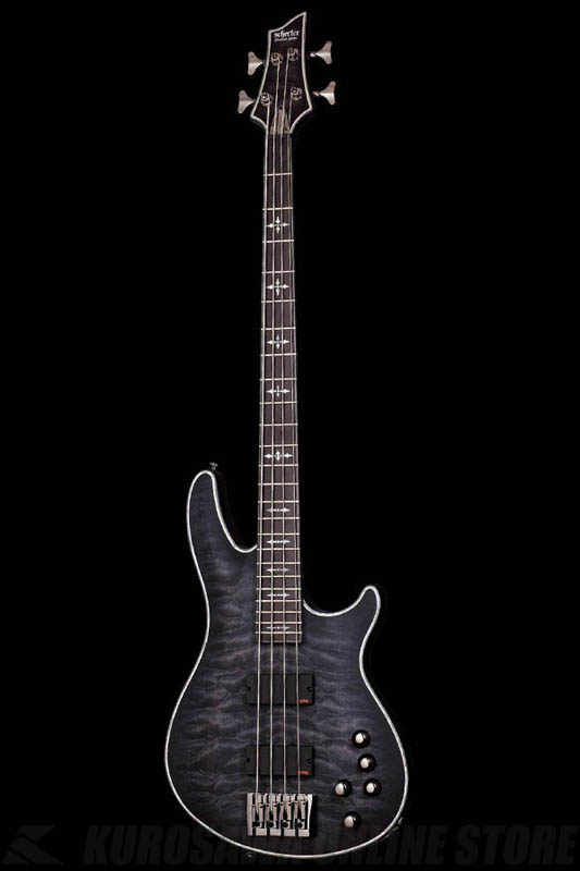 Schecter Diamond Series HELLRAISER EXTREME 4 See Thru Black Satin(STBLS)[AD-HR-EX-BASS-4/STBLS]《ベース》【送料無料】
