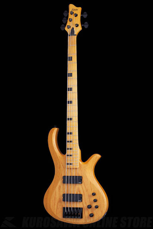 Schecter Diamond Series RIOT SESSION 5 Aged Natural Satin(ANS)[AD-SL-SS5/ANS]《5弦ベース》【送料無料】