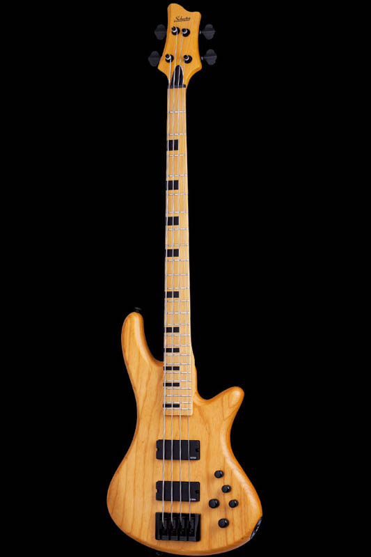 Schecter Diamond Series STILETTO SESSION 4 Aged Natural Satin(ANS)[AD-SL-SS4/ANS]《ベース》【送料無料】, やまがたけん c9b02c95