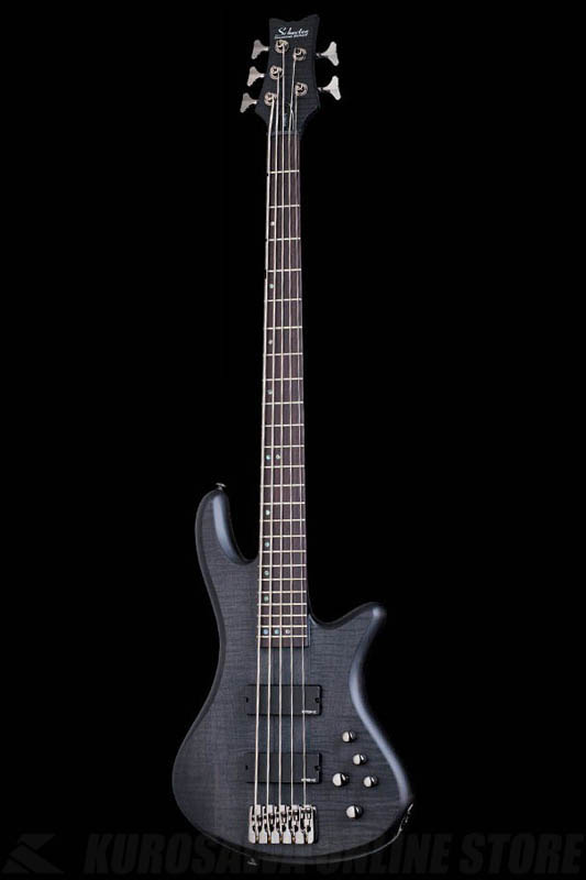 Schecter Diamond Series STILETTO STUDIO 5 See-thru Black Satin(STBLS)[AD-SL-ST5/STBLS]《5弦ベース》【送料無料】