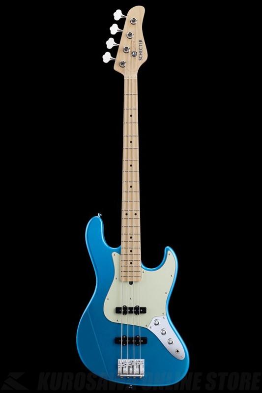 SCHECTER N Series N-JB-AS-LPB (Lake Pracid Blue / Maple)《ベース》【送料無料】