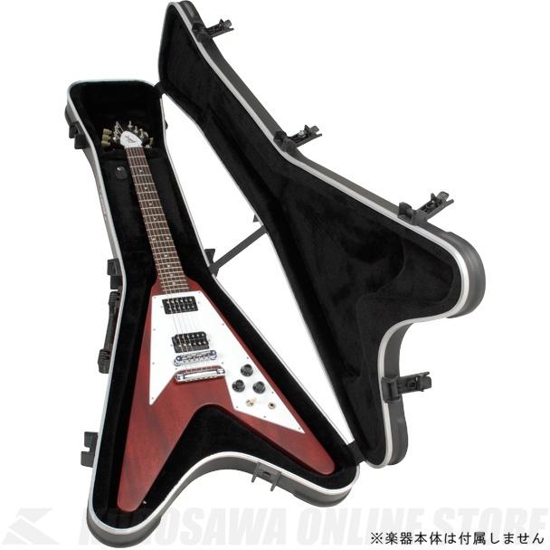 【エレキギターケース】《SKB》 SKB Flying V Hardshell Guitar Case [1SKB-58]《エレキギターケース》【送料無料】【受注生産品・納期未定】