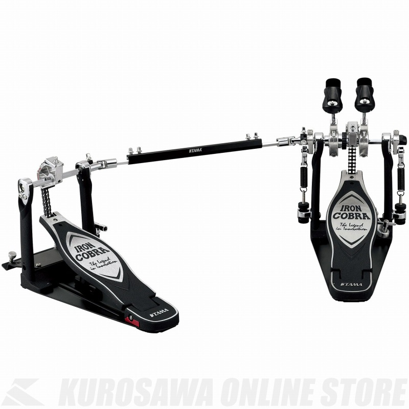 TAMA Iron Cobra 900 DRUM PEDALS HP900PWN 《ドラムペダル/ツインペダル》【送料無料】