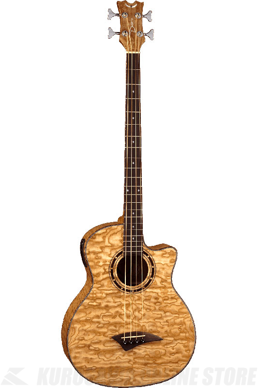 DEAN EXOTICA QUILT ASH BASS With APHEX (GN) [EQABA GN] 《アコースティックベース》【送料無料】