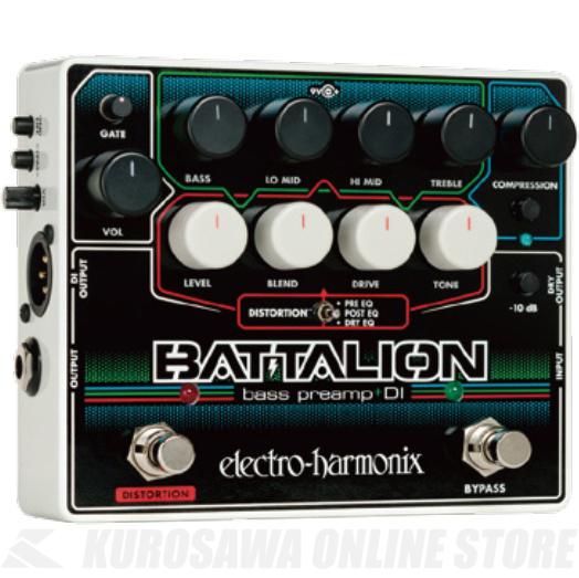 Electro Harmonix Battalion Bass Preamp & DI (ベース用プリアンプ/DI)(送料無料)