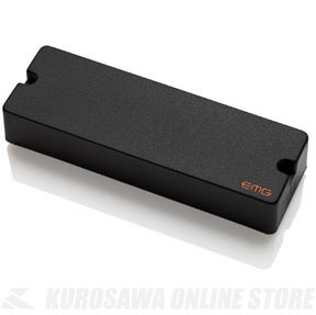 EMG EXTENDED SERIES BASS PICKUPS 45TW 〔6string - Dual Mode〕(Black)《ベース用ピックアップ/6弦ベース用》
