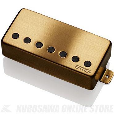 EMG ACTIVE HUMBUCKING PICKUPS 57-7H 〔7string Metal Cap Active Pickup - Bridge〕(Brushed Gold)《エレキギター用ピックアップ/ハムバッカータイプ》