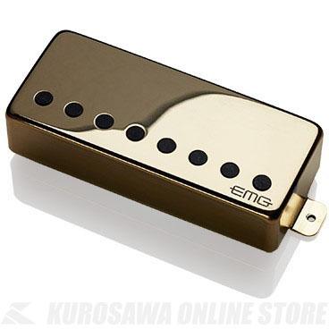 EMG ACTIVE HUMBUCKING PICKUPS 57-8H 〔8string Metal Cap Active Pickup - Bridge〕(Gold)《エレキギター用ピックアップ/ハムバッカータイプ》