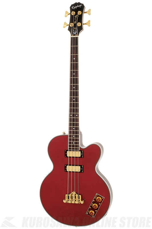 Epiphone Allen Woody Ltd Ed Rumblekat Gld Hdwe (Wine Red) [EBAKWRGH1] 《ベース》 【送料無料】(ご予約受付中)