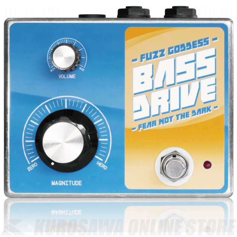 Fuzz Goddess BASS DRIVE 《エフェクター/オーバードライブ》【送料無料】【お取り寄せ】