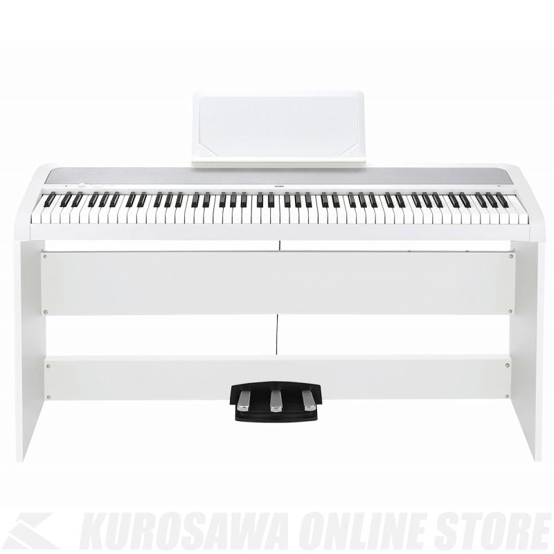 KORG B1SP-WH (デジタルピアノ)(送料無料)(マンスリープレゼント)(ご予約受付中)