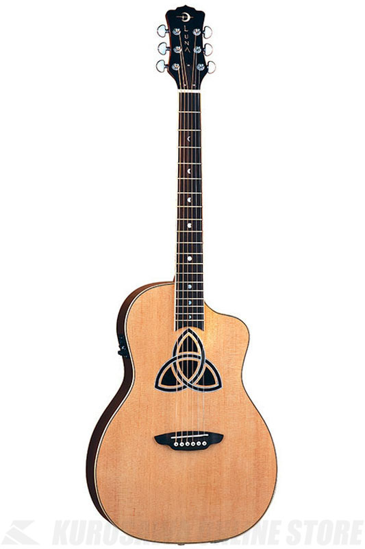 Luna Guitars Trinity Series Parlor [TRI PAR]《アコースティックギター/エレアコ》【送料無料】【お取り寄せ】
