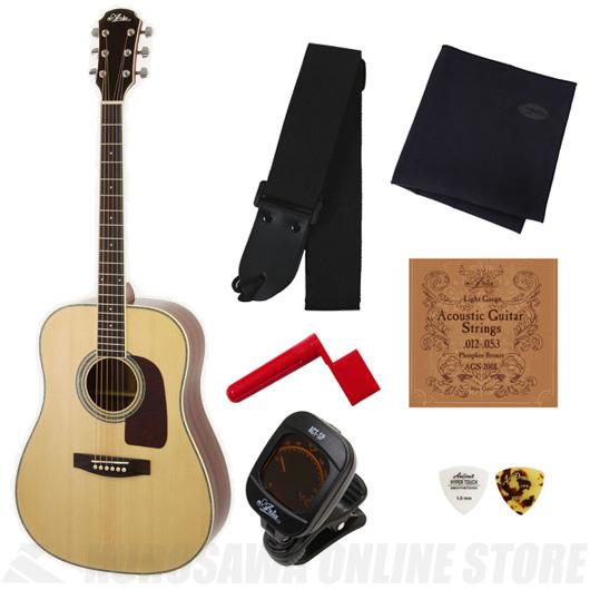 Aria AD-20 N (Natural)《アコースティックギター》【送料無料】【入門セット付き】