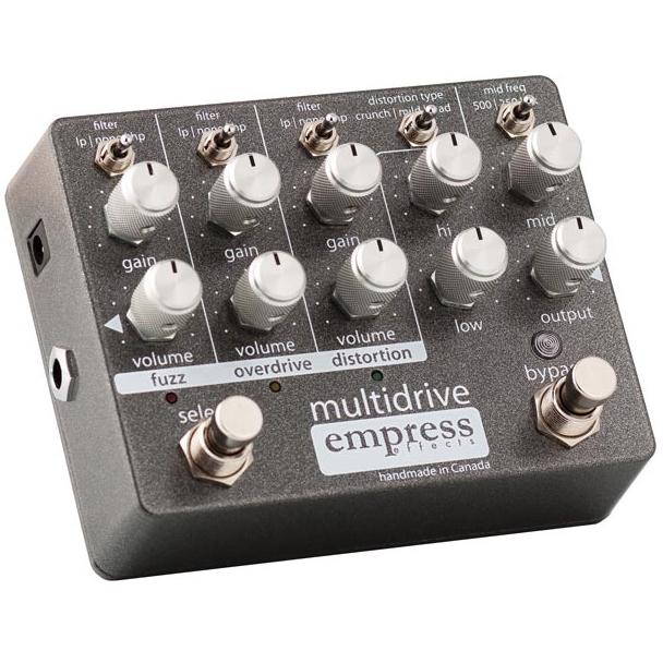 Empress Effects Multidrive 3 Drive Pedals in 1 《エフェクター/オーバードライブ/ファズ/ディストーション》【送料無料】