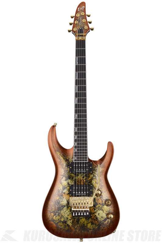 ESP HORIZON-PT FR Fireopal (Red Pearl Black) 《エレキギター》【受注生産品】【送料無料】