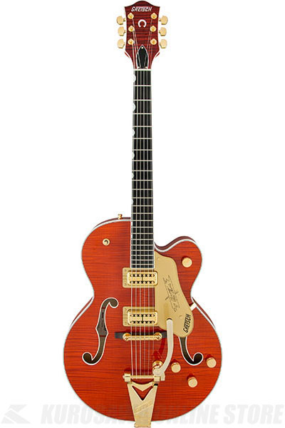Gretsch G6120TFM Players Edition Nashville (Orange Stain)《エレキギター》【送料無料】