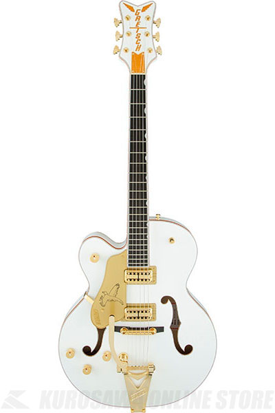 Gretsch G6136TLH-WHT Players Edition Falcon (White)《エレキギター》【送料無料】