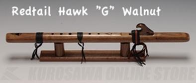 High Spirits Flutes レッドテール・ホーク 101-W key/G クルミ材 598mm 《インディアンフルート》【送料無料】