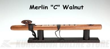 High Spirits Flutes マーリン 106-W key/C ウォルナット材 450mm 《インディアンフルート》【送料無料】