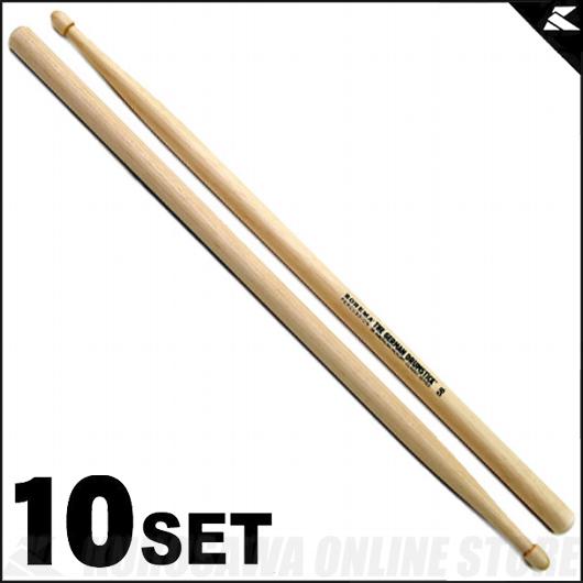 Rohema [61324/2] Percussion 5B Classic Series Classic 5B Series Hickory [61324/2] 《ドラムスティック》【10セット】【送料無料】, チョウカイマチ:f6e65b1a --- officewill.xsrv.jp