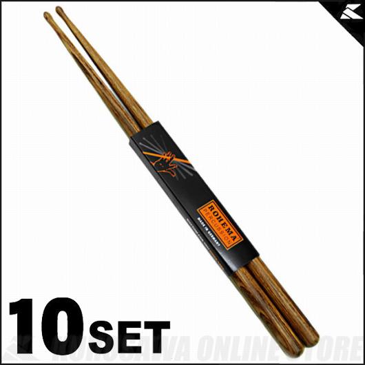 Rohema Percussion Hornwood Series 4H Hornwood [61344/3] 《ドラムスティック》【10セット】【送料無料】