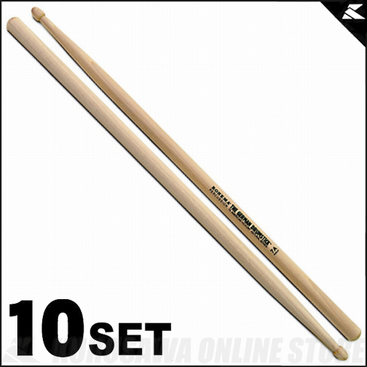 Rohema Percussion Natural Series Natural 7A Hickory [61325/2U] 《ドラムスティック》【10セット】【送料無料】