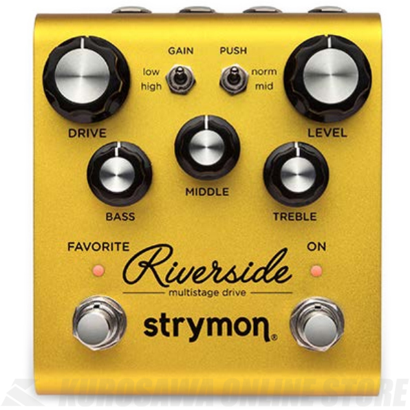 Strymon Riverside Multistage Drive 《エフェクター/オーバードライブ/ディストーション》【送料無料】