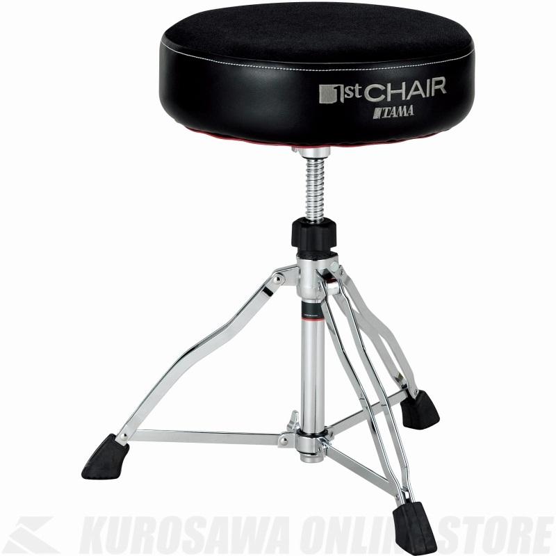 """TAMA 1 ST Chair ラウンドライダー 3脚 """"クロストップ"""" スローン [HT430BC]《ドラムスローン》【送料無料】"""