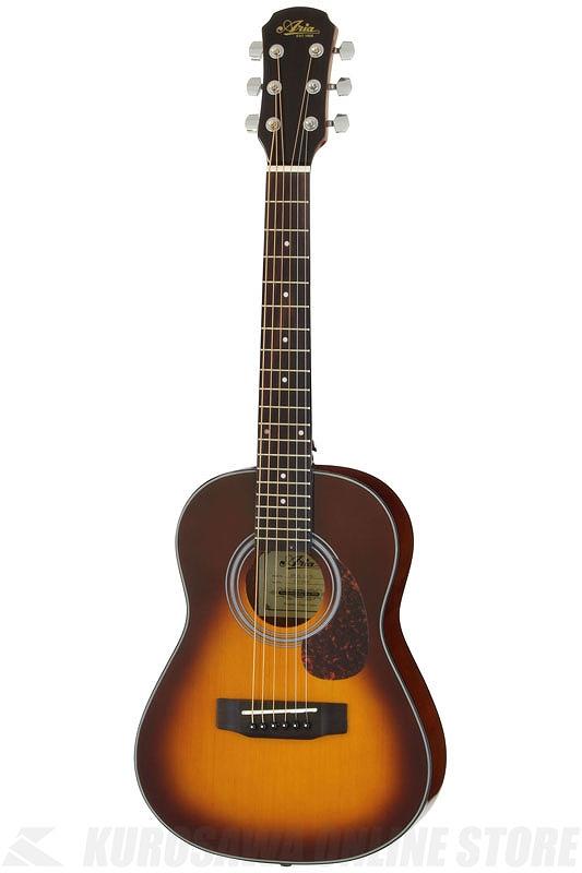 Aria ADF-01 1/2 TS (Tobacco Sunburst) 《アコースティックギター/ミニギター》 【送料無料】