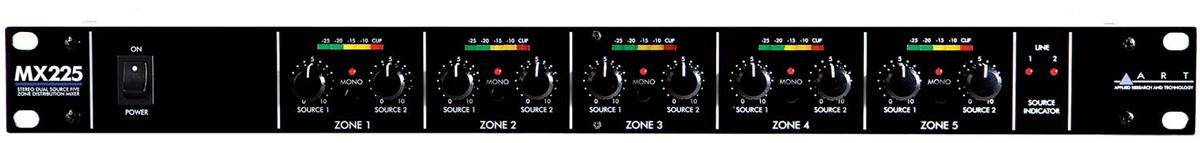 【ファッション通販】 ART Distributor MX225【送料無料】 5ch Zone Distributor ART 《ステレオ・デュアルソース・5ゾーン・ディストリビューション・ミキサー》【送料無料】, ヒガシタガワグン:150cc2bc --- canoncity.azurewebsites.net