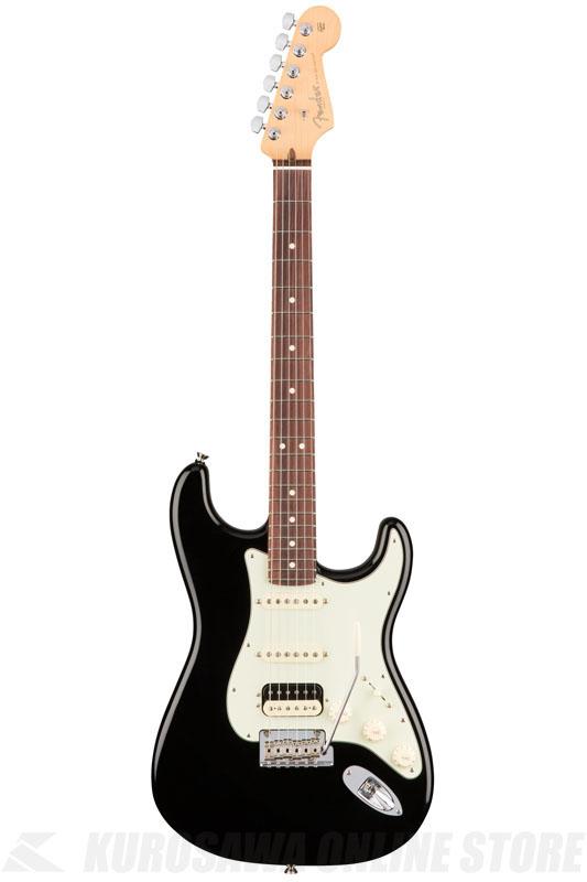 Fender American Professional Stratocaster HSS Shawbucker, Rosewood Fingerboard, Black《エレキギター/ストラトキャスター》 【送料無料】(ご予約受付中)