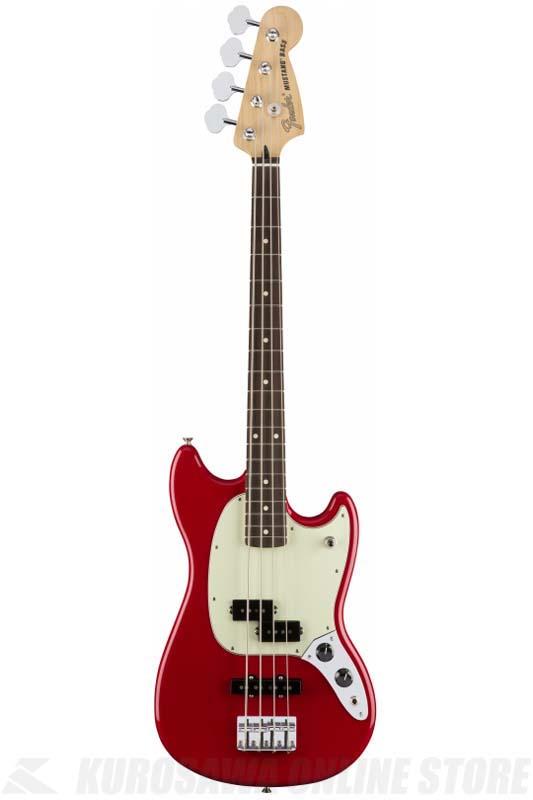 Fender Mustang Bass PJ, Pau Ferro Fingerboard, Torino Red[0144053558](ベース/ムスタングベース) (送料無料)