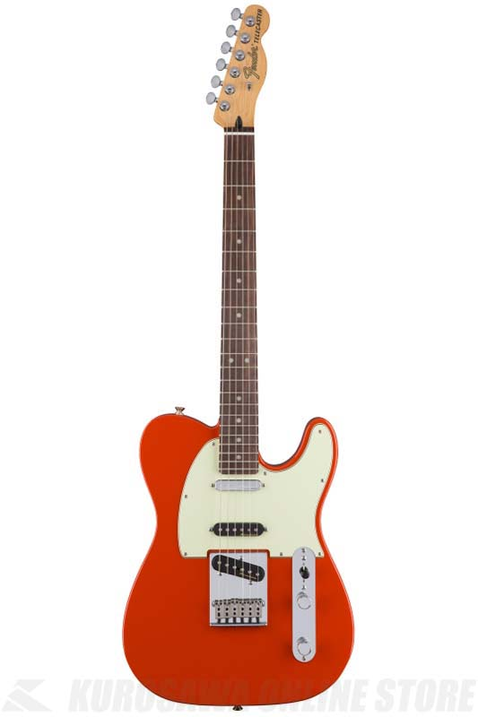 Fender Deluxe Nashville Telecaster, Rosewood Fingerboard, Fiesta Red[0147500340]《エレキギター/テレキャスター》 【送料無料】