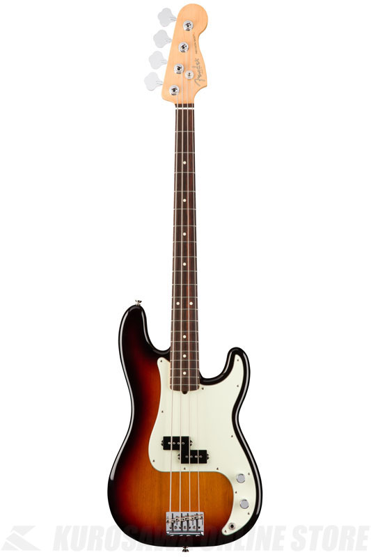 Fender American Professional Precision Bass, Rosewood Fingerboard, 3-Color Sunburst《ベース/プレシジョンベース》【送料無料】