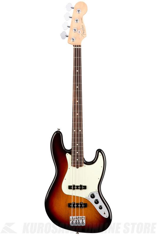 Fender American Professional Jazz Bass, Rosewood Fingerboard, 3-Color Sunburst《ベース/ジャズベース》【送料無料】【ご予約受付中】