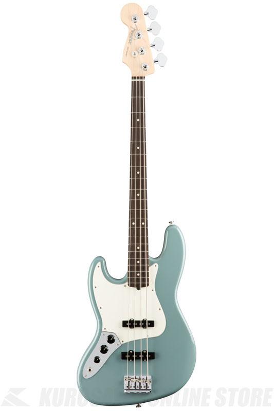 Fender American Professional Jazz Bass Left-Hand, Rosewood Fingerboard, Sonic Gray《ベース/ジャズベース》【送料無料】【ご予約受付中】