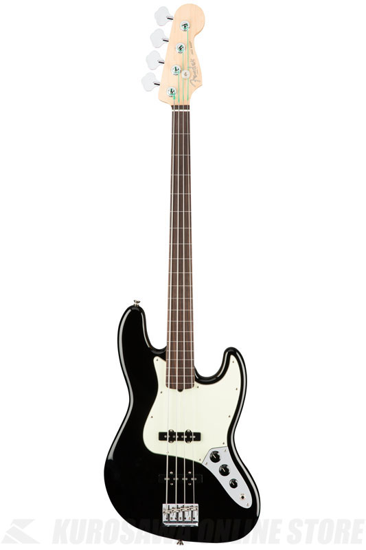 Fender American Professional Jazz Bass Fretless, Rosewood Fingerboard, Black《ベース/ジャズベース》【送料無料】【ご予約受付中】