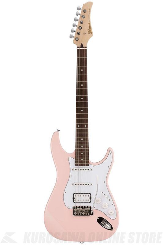 Greco WS-STD SSH LPK (Light Pink / Rosewood)《エレキギター》【日本製】【送料無料】