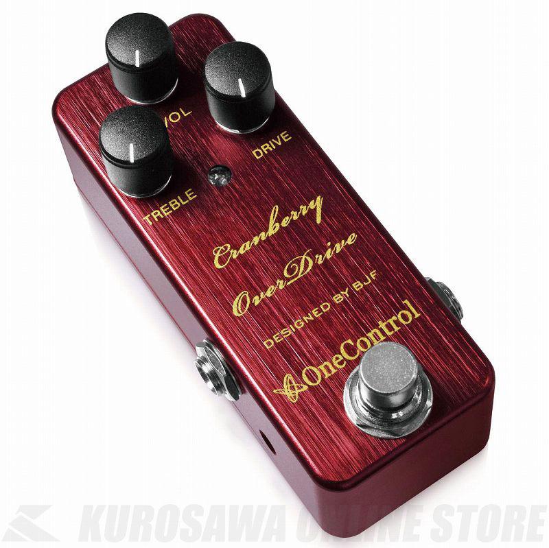 (お得な特別割引価格) One Control Cranberry Control OverDrive《エフェクター Cranberry/オーバードライブ》【送料無料 One】, 激安正規 :6df90c58 --- clftranspo.dominiotemporario.com