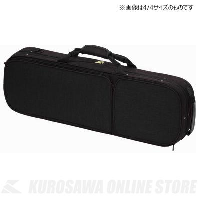 (Black)《分数バイオリン用軽量セミハードケース》【送料無料】 Carlo 1/2 OBL-170 Giordano