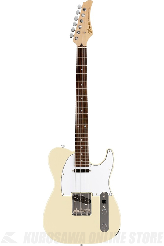 Greco WST-STD (Aged White / Rosewood Fingerboard) 《エレキギター》【日本製】【送料無料】