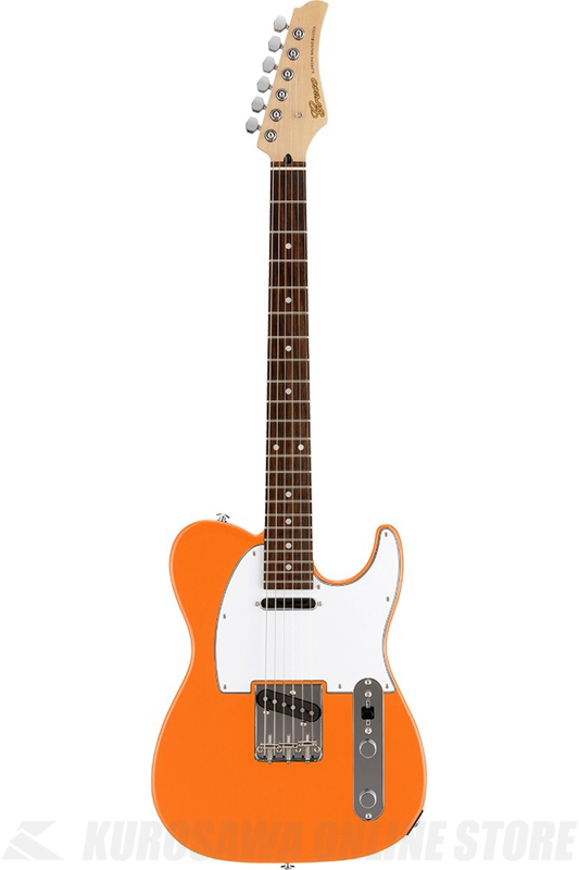 Greco WST-STD (Light Orange / Rosewood Fingerboard) 《エレキギター》【日本製】【送料無料】