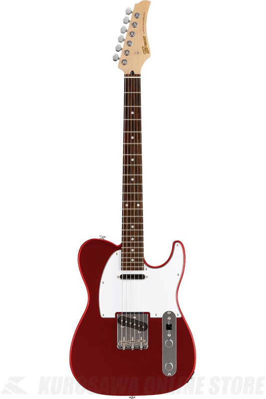 Greco WST-STD (Metallic Red / Rosewood Fingerboard) 《エレキギター》【日本製】【送料無料】